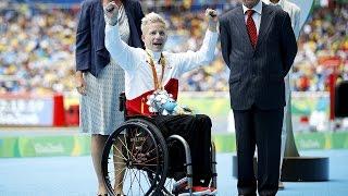Paralympian won