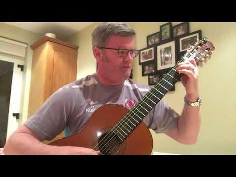 Grand Overture Op. 61 by Mauro Giuliani played by Belfast Guitar teacher Brian Keenan