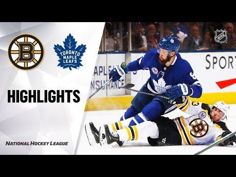 NHL Highlights | Bruins @ Maple Leafs 11/15/19