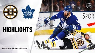 NHL Highlights | Bruins @ Maple Leafs 11/15/19