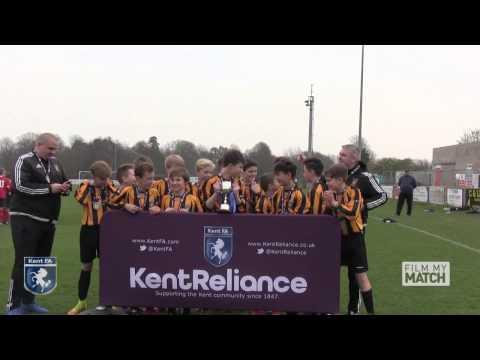 Kent Reliance U13 Boys Youth Cup Final 2017