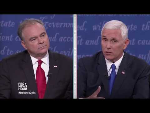 Thumbnail: Q21 - Kaine and Pence on North Korea and Foundations - 10.4.2016