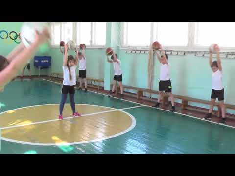 Видео открытый урок по баскетболу