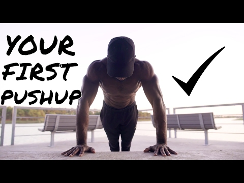 How To FInally Do Your First Pushup (Complete Guide)