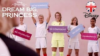 DISNEY PRINCESS | Meet the Lionesses, the England Women's Football Team | Official Disney UK