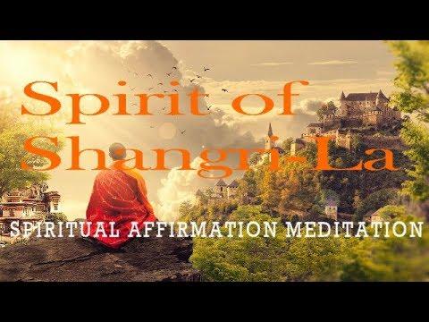 Spirit of Shangri-La | Deep Spiritual Affirmations | Delta | Healing | Sleep | Isochronic Tones Only