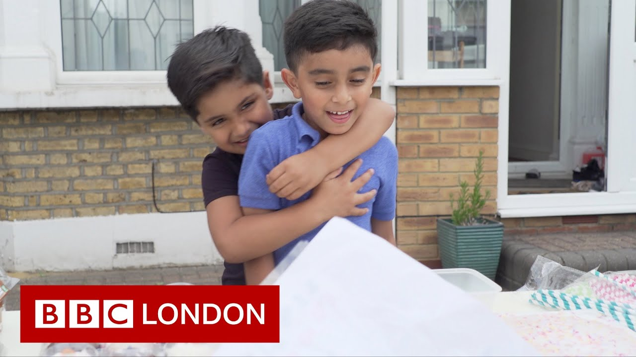 Two six-year-old boys have raised thousands for the Yemen crisis- BBC London