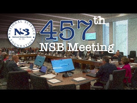 NSB Meeting 457 Day 1 Live Webcast