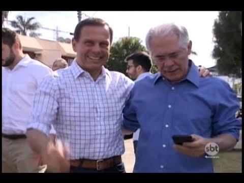 Pré-candidato ao governo do Estado, João Doria esteve em Rio Preto para anunciar nome de vice
