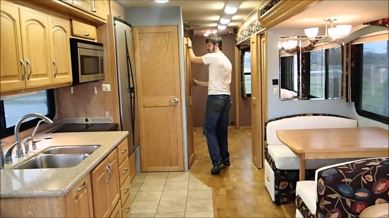 2008 Alfa Gold Interior tour coach 4616 FOR SALE  YouTube