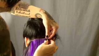 Hair Extensions: How To Sew In