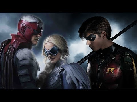 Hawk and Dove Costume Revealed! Hawk and Dove Explained! - Titans Season 1