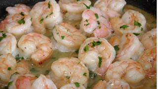 Shrimp Scampi - Recipe by Laura Vitale - Laura in the Kitchen Episode 182
