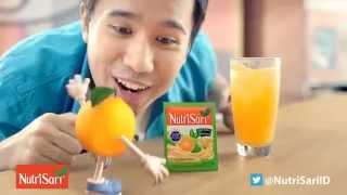 Iklan NutriSari Jeruk Peras versi Kaca Pembesar (2015)