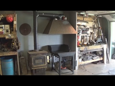 Building The New Blacksmith Shop