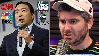 The Media Is Shunning Andrew Yang