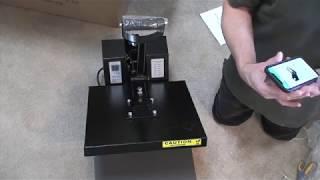 Heat Press UnBoxing (PowerPress HPM 1515)