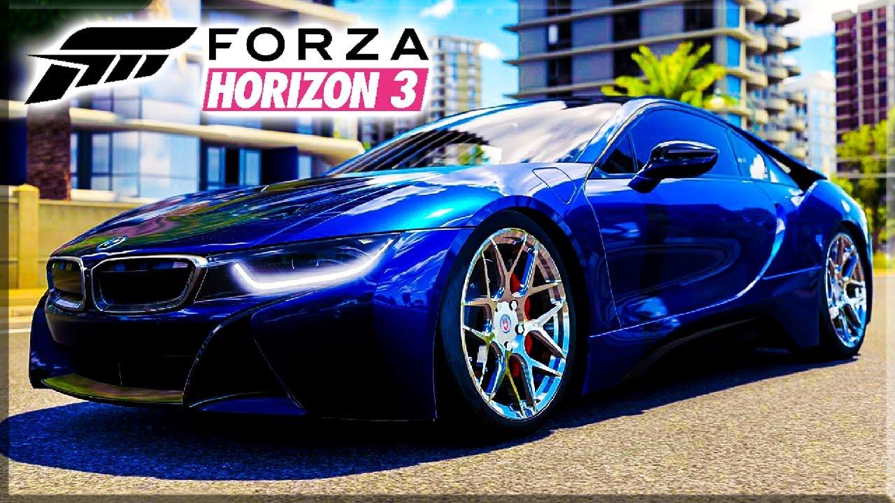 Stanced V8 Bmw I8 Build Forza Horizon 3 Ekdrifter458 Youtube