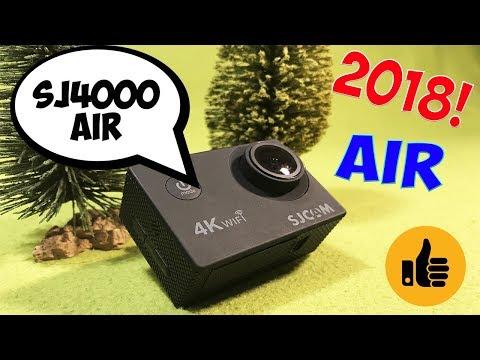 🔴SJCAM SJ4000 AIR НОВИНКА 2018 ГОДА! МНОГО ИЗМЕНИЛОСЬ?