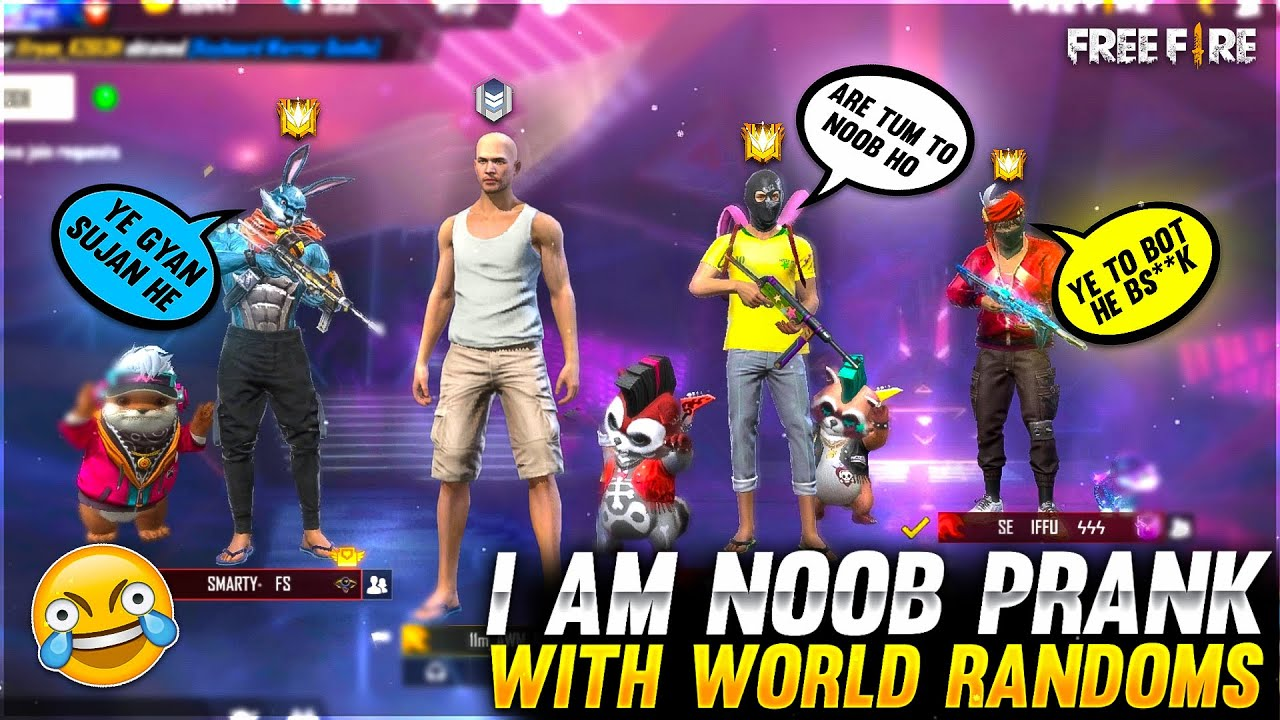 I am Noob Prank With World Randoms😂Gone Wrong !!