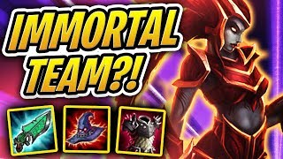 5000HP IMMORTAL TEAM! CANNOT BE KILLED?! | TFT | Teamfight Tactics | League of Legends Auto Chess