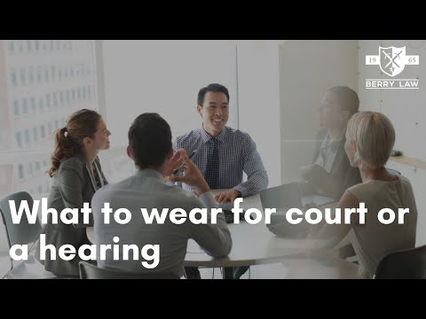What to Wear to Court in Omaha | Omaha Criminal Lawyers