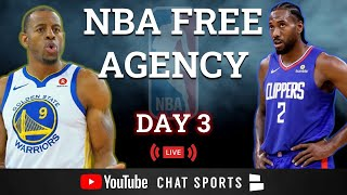 NBA Free Agency LIVE - Day 3: Victor Oladipo, John Collins, Kemba Walker, Top Free Agents