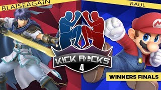 Kick Rocks 4: Blaiseagain (Ike/Richter) vs Raul (Mario) - Winners Finals