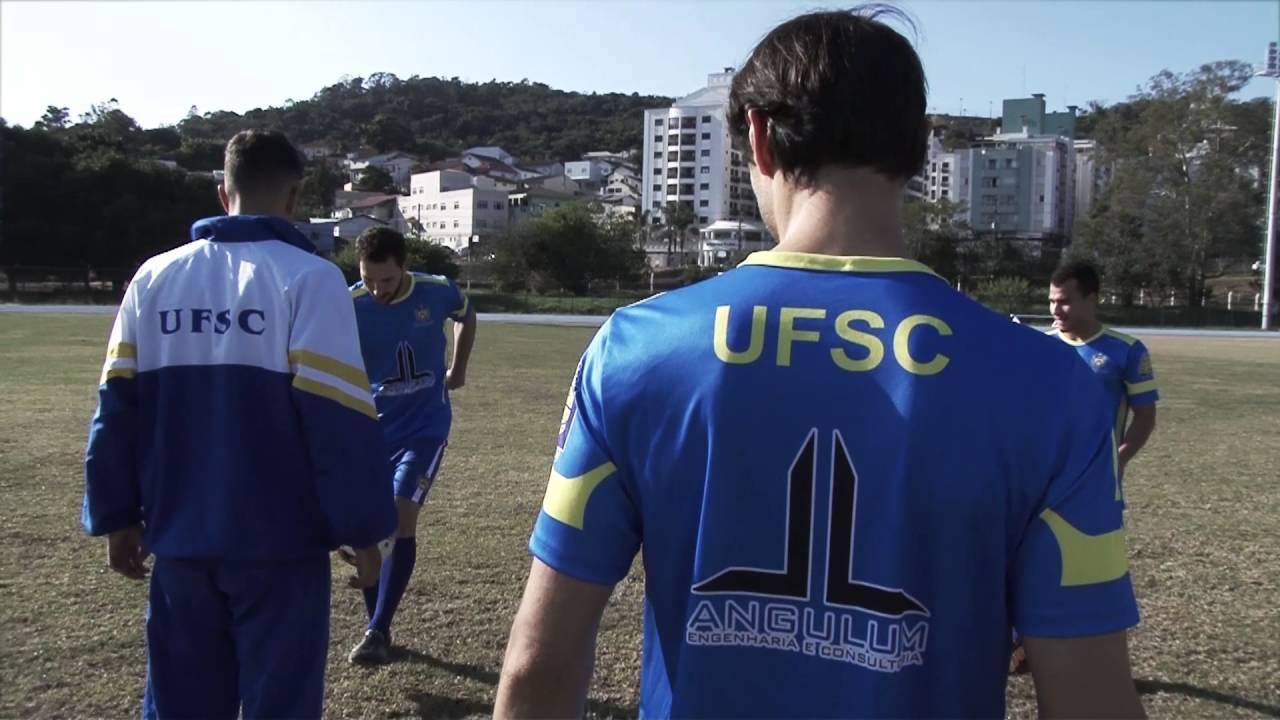 Esporte Olímpicos na UFSC - Futebol