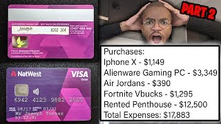 I Put My Credit Card Details Online And Saw What People Bought... (HUGE MISTAKE)
