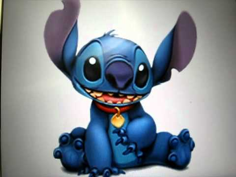 Happy Birthday Stitch Cake