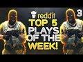 CS:GO - TOP 5 REDDIT PLAYS OF THE WEEK! ft. Shroud, Stewie2k & MORE