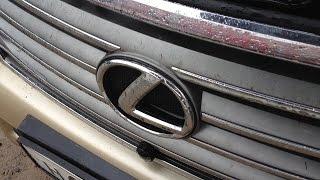 Lexus LX 570 встал