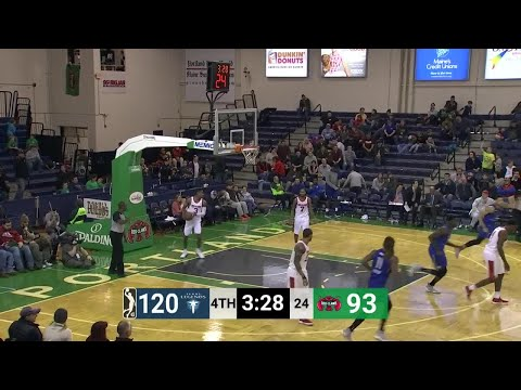 Kyle Collinsworth (21 points) Highlights vs. Maine Red Claws