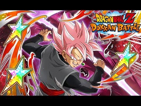 THE TRUE POWER OF ANGER! 100% RAINBOW STAR ROSE GOKU BLACK SHOWCASE! (DBZ: Dokkan Battle)