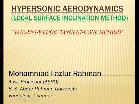 Hypersonic Aerodynamics 10