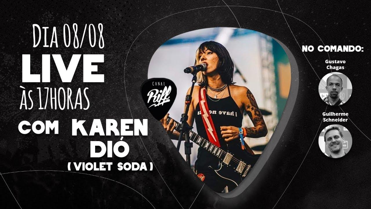 Karen Dió (Violet Soda) + RIFFCAST