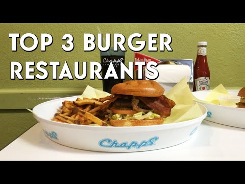 Top 3 Burger Joints in Arlington, Texas