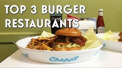 Top 3 Burger Joints in Arlington, Texas