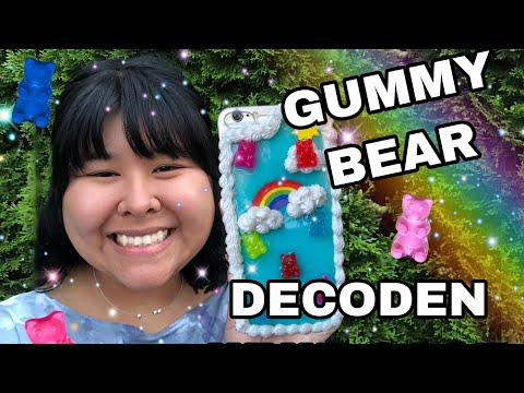 DECODEN WHIP CASE WITH GUMMY BEARS: resin DIY