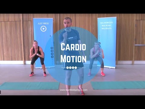 25 minute low impact beginner workout - Cardio Motion