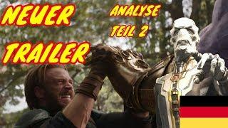 NEUER INFINITY WAR TRAILER ANALYSE Teil 2 - Avengers Infinity War Trailer Analyse (Deutsch)