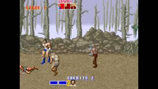 Golden Axe (set 6, US, 8751 317-123A) - Golden Axe (Arcade / MAME) - Level 1 Theme Song - User video