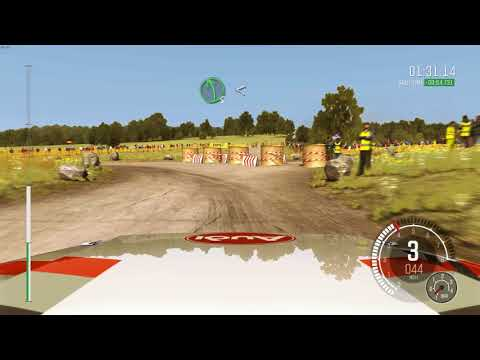 Taking a nice cruise in the Audi sport Quatto Rally car!