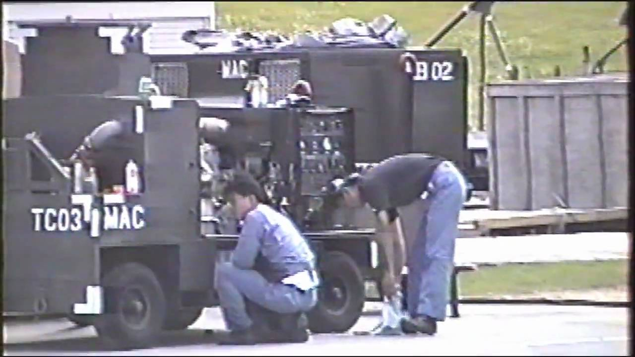 1992 603rd CAMS Aerospace Ground Equipment Shop Operations - YouTube