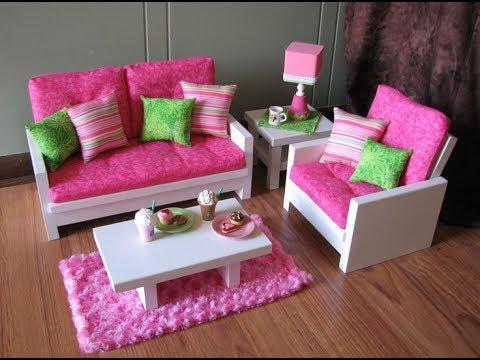 Кукольная мебель из пенопласта своими руками