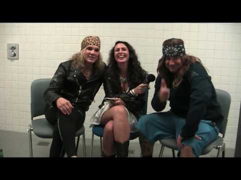 STEEL PANTHER Interview Michael Starr and Stix Zadinia