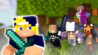 """Minecraft Speedrunner vs. Assassin"" Zavast vs. Dantsi, xVolt, Nelsku & KettuBoy_"