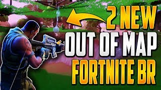 GLITCHES FORTNITE BATTLE ROYALE - 2 NEW OUT OF MAP WALLBREACH GOD MODE GLITCHES FORTNITE BR