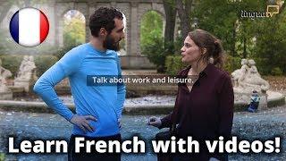 """Französisch lernen mit Videos!  Neue LinguaTV-Kurse """"Französisch für Anfänger"""" (A1 / A2)"""